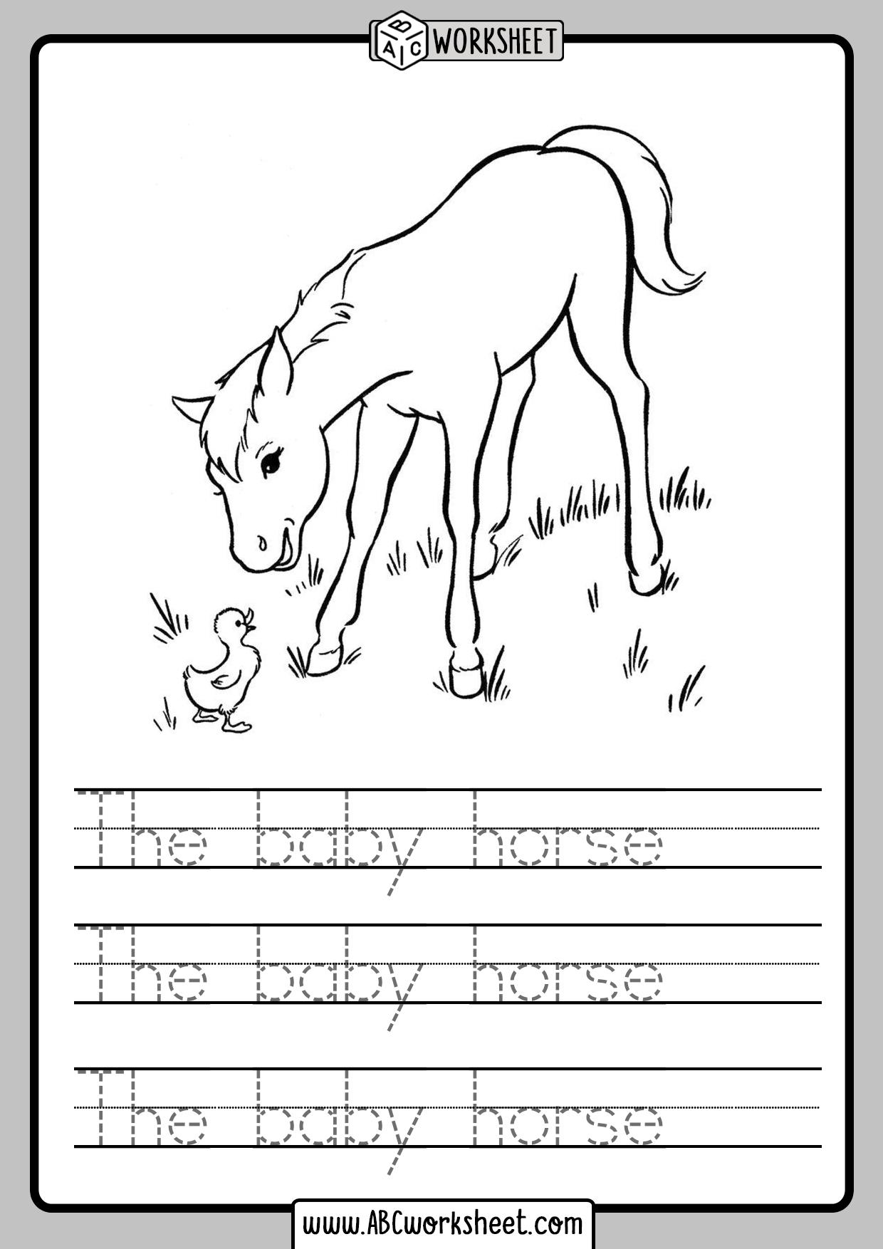 Sentences Worksheets Kindergarten