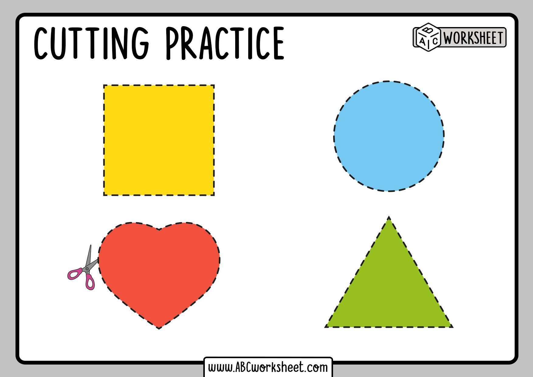 Cutting Shapes Exercises