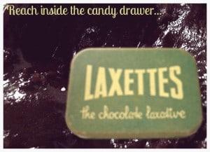 chocolate laxative