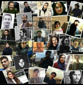 Iran-Picture of Arrested students