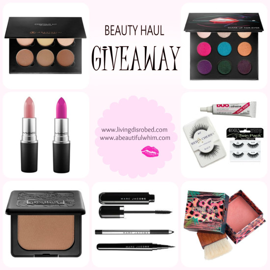 beauty haul giveaway
