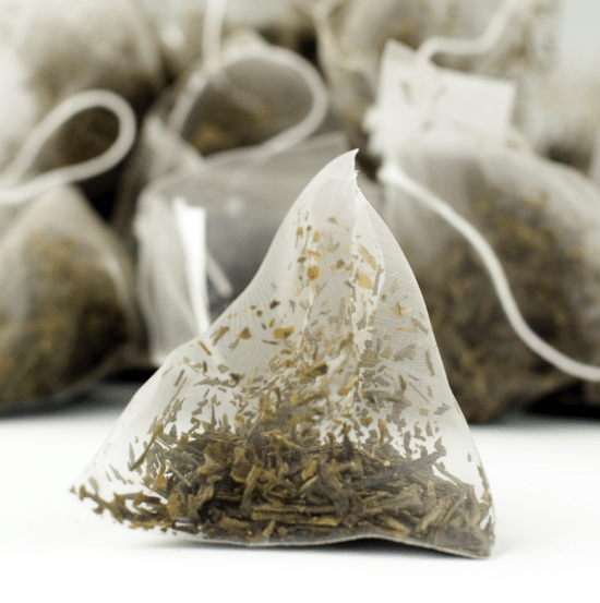 green tea bags to treat skin redness