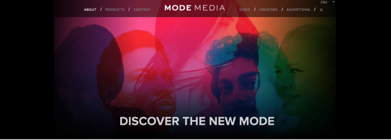 Mode Media sponsored blog posts