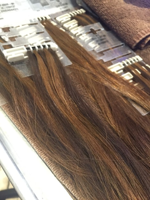 Hairdreams permanent hair extensions review a beautiful whim bundles of hairdreams hair pmusecretfo Images