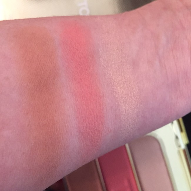 Tom Ford Soleil Contour Palette swatches