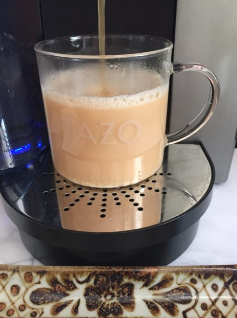 Brewing Keurig TAZO chai latter k cup pods