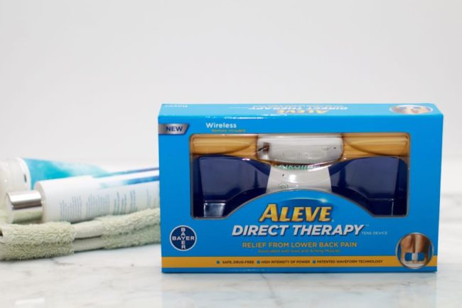 Aleve Direct Therapy TENS Device for lower back pa