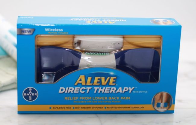 Aleve Direct Therapy TENS Device for lower back pain