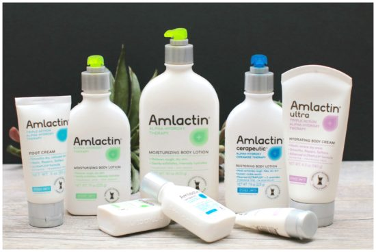 AmLactin and extremely dry skin rough skin