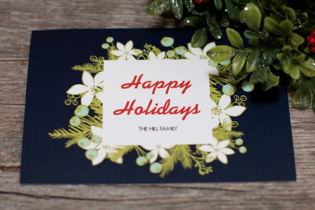 Holiday Cards Handwritten Cards Service Bond