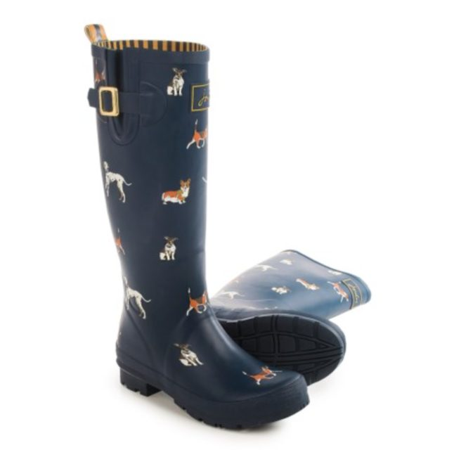 Joules Welly Rain Boots discount shopping
