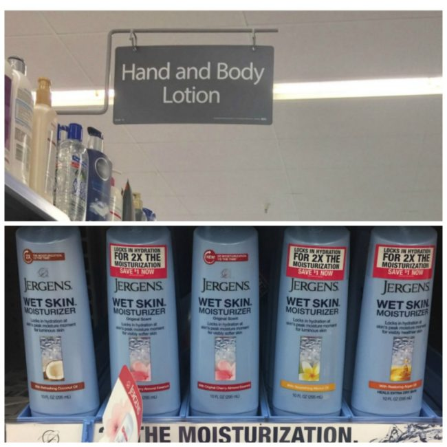 Wet Skin Moisturizer at Walmart