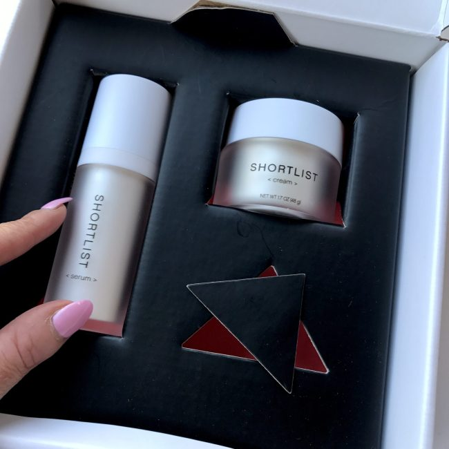 Shortlist Beauty products