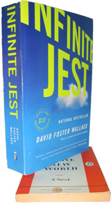 Infinite Jest vs. a much smaller penguin book
