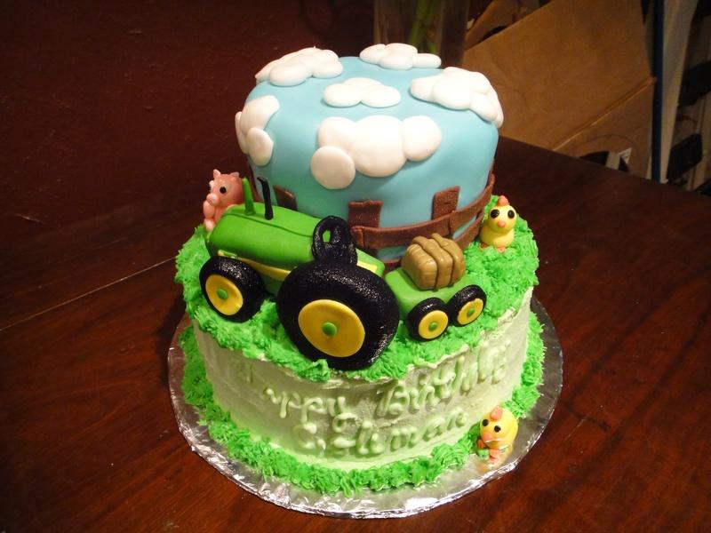 John Deere Cake Walmart Bakery