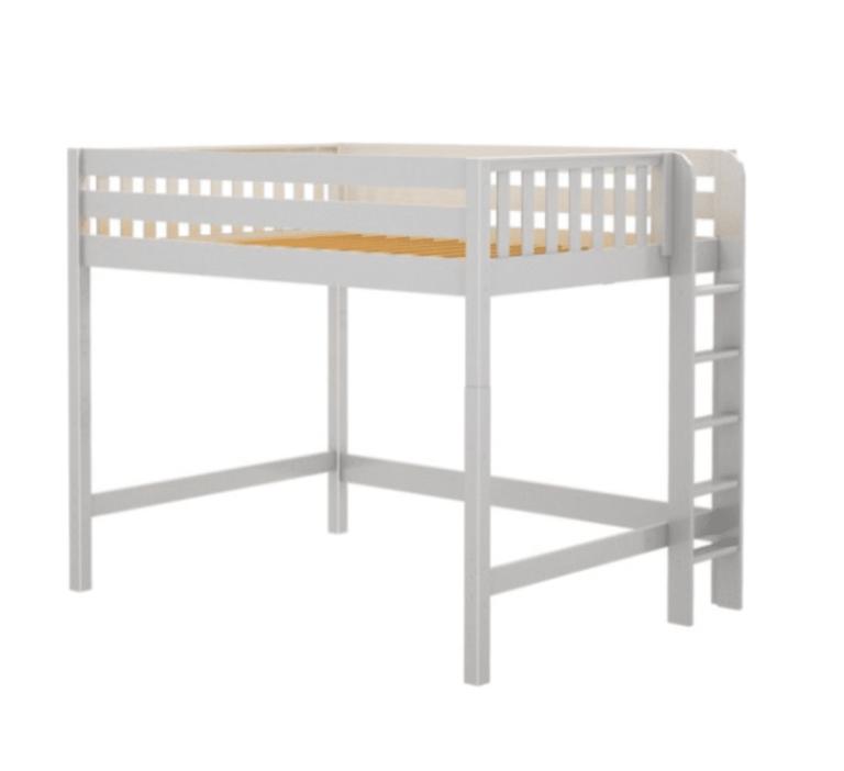 white-queen-size-loft-bed