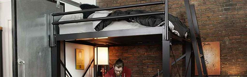 Top 4 Queen Size Loft Beds You Can, How To Build A Queen Size Bunk Bed