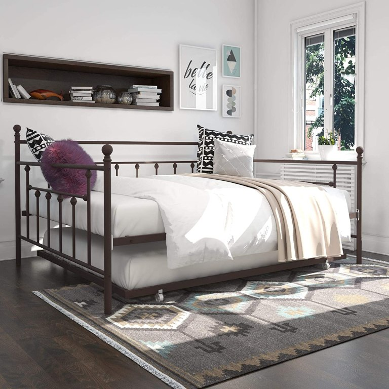 queen-daybed-trundle-metal