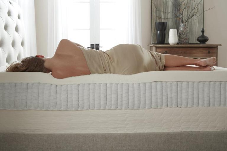 woman-on-side-12-inch-latex-mattress