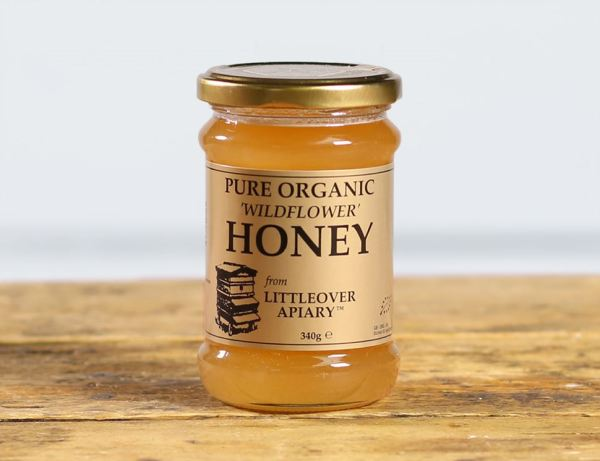 Wildflower Honey Organic Littleover Apiary 340g Abel