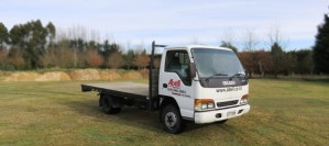 Large Flat Deck Truck for hire