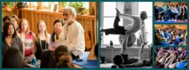 Sri Dharma sharing teachings at the New Year's immersion