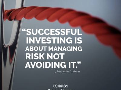 Investing Is Managing Risk Not Avoiding It