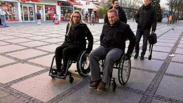Selbstversuch im Rollstuhl