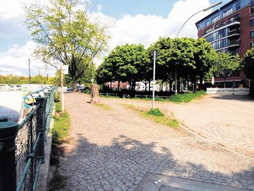 Hingucker am Kanalufer