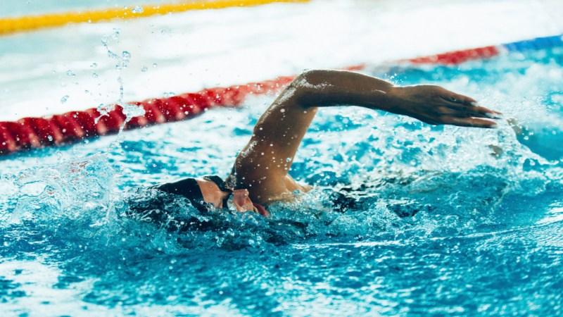 Zu wenig Platz für Schwimmer