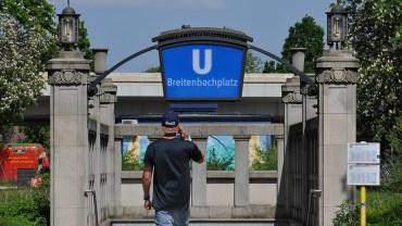 Die Brücke am Breitenbachplatz soll weg
