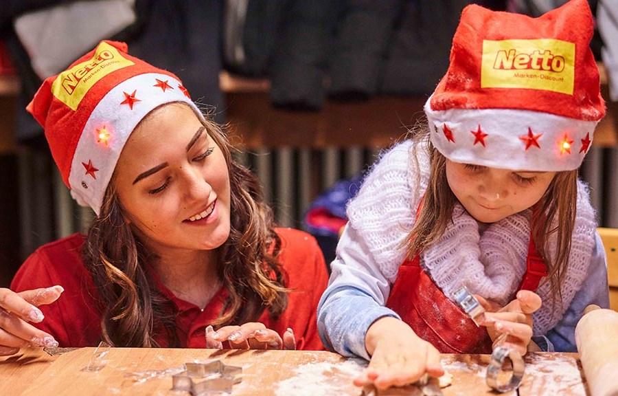 Adventsaktion im Kinderheim
