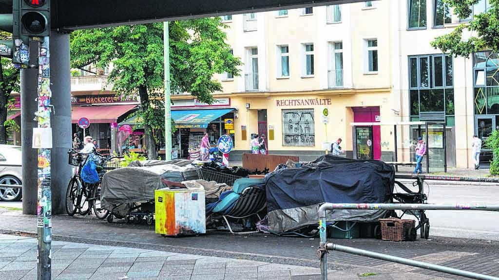 Berliner Alternativen für Obdachlose