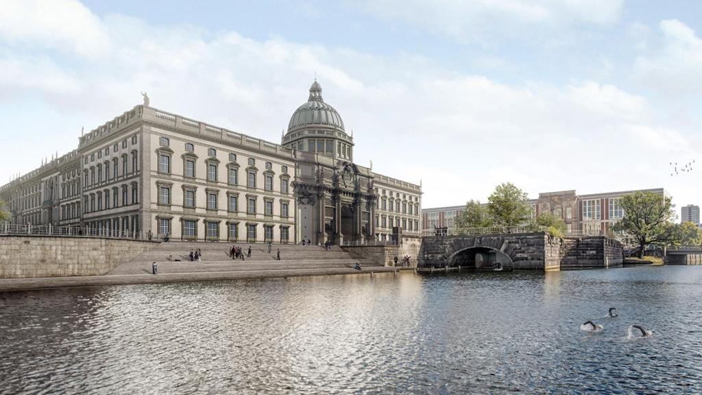 Berlin-Mitte: Weichen für Flussbad-Projekt gestellt