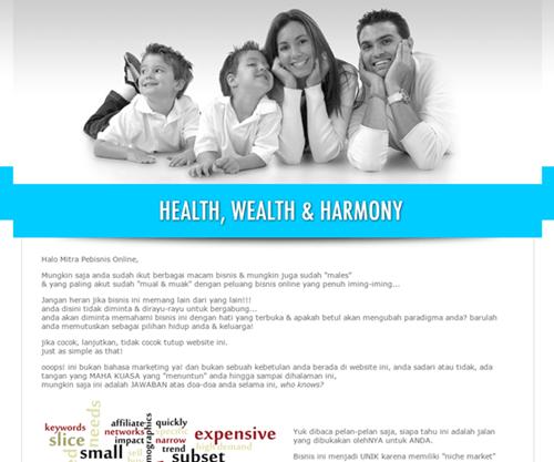Bisnis Online Keluarga Harmonis - Abenetwork Group