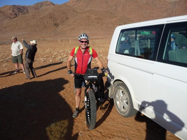 Mit dem Fatbike durch die Namib-Wüste - Gerhard von Kapff
