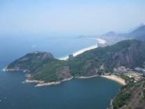 Blick vom Zuckerhut auf Copacabana