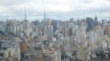 Blick über die Betonwüste São Paulo vom Edificio Itália aus.