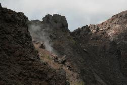 Rauch am Vesuv