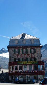 Das Hotel Belvédére am Furkapass