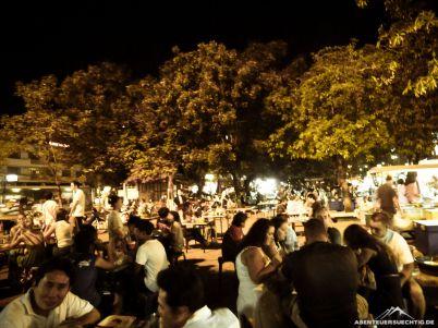Der Night-Market in Chiang-Mai