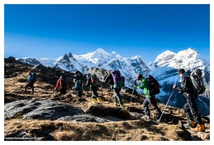 Akklimatisation auf über 5.000 Meter Höhe