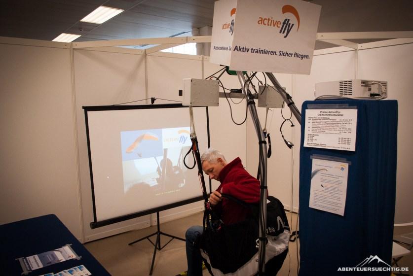 Active Fly Gleitschirmsimulator