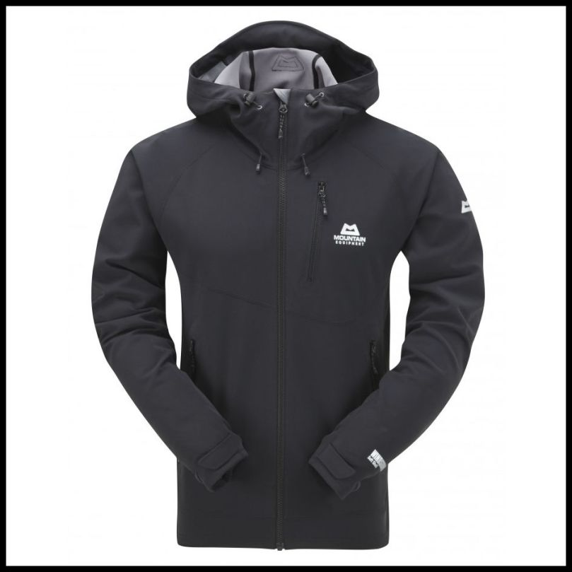 Trojan Hooded Jacket Black