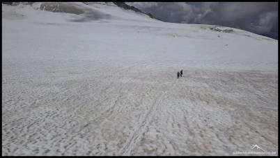 Abstieg über den Turtmanngletscher zurück zur Tracuit