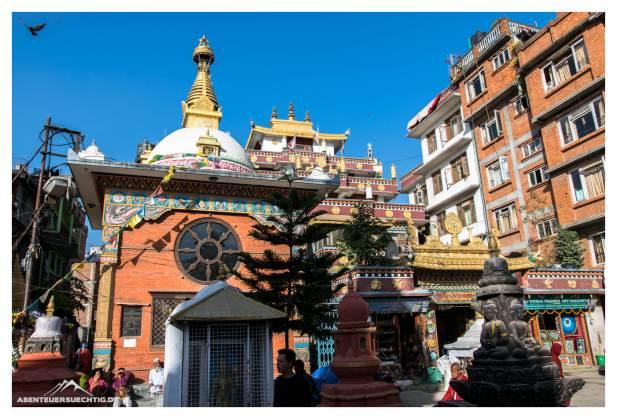 Stadtbummel Kathmandu