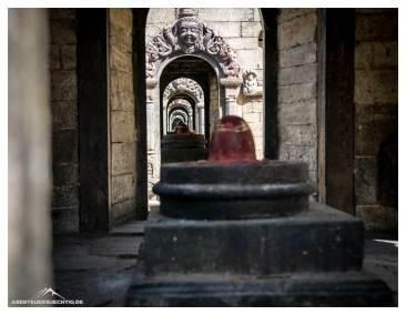 Spiegelgang Pashupatinath