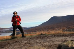 Max auf dem West Highland Way