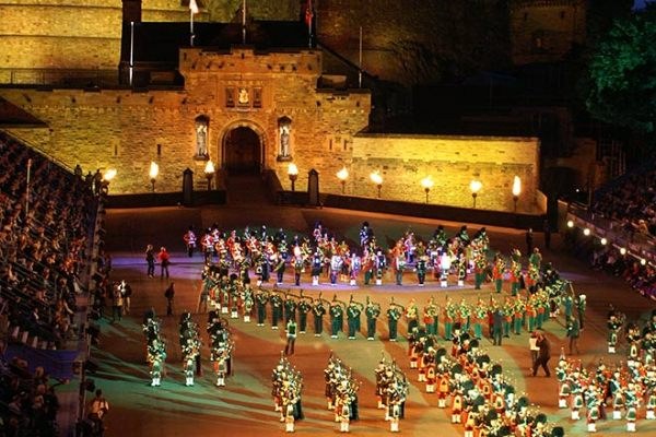 Edinburgh Castle: Royal Edinburgh Military Tattoo.
