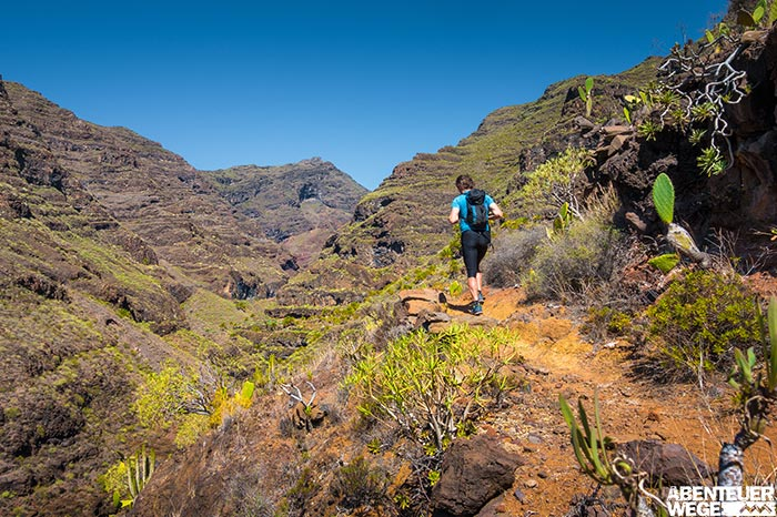 Wanderer auf La Palma